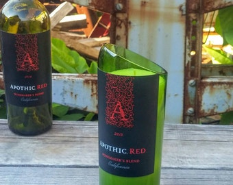 Apothic Red Wine Decor - Upcycled Candle