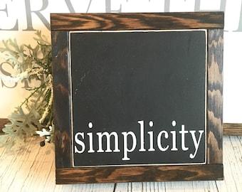simplicity | mini