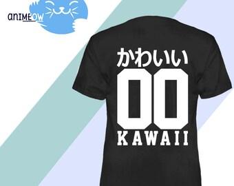 Kawaii かわいい Jersey Style 00 Cute Anime T-Shirt