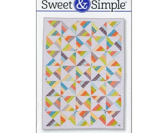 Butterfly Effect Quilt Pattern by Amy Smart ~ Sweet & Simple Pattern Series