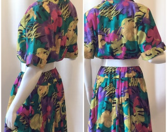 CG II Funky Floral Dress