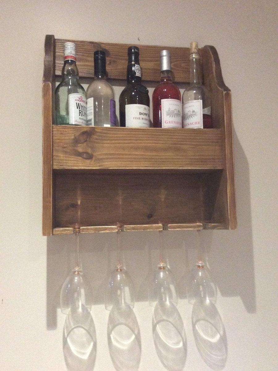 Vintage style wine rack wall mounted wine rack vintage wine for Old wine rack