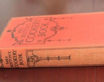 Mrs Beeton's Cookery Book. Hardback book.