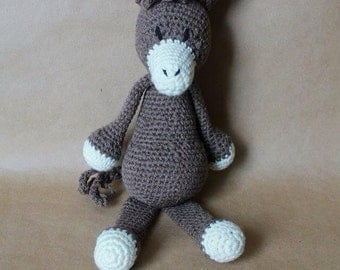 Crocheted Donkey