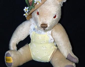 Merrythought Mohair Sunshine Summer Teddy Bear  - 271
