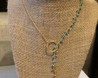 Unique Lariat Necklace