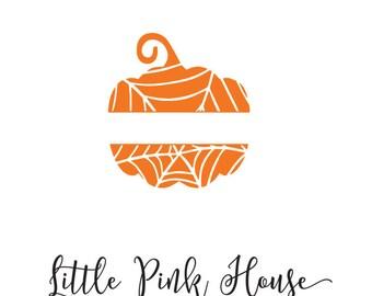 Pumpkin monogram, pumpkin svg, halloween monogram, halloween svg, halloween, spider monogram, pumpkin, fall, fall svg, monogram frame, svg
