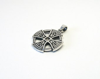 "Celtic Cross ""Celtic Cross"" Celtic knots 925 jewellery charms"