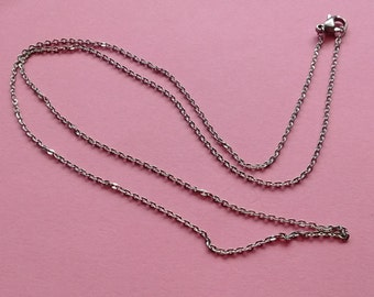 "1 Necklace Stainless Steel 20"" Cable Chain - NSS2234"