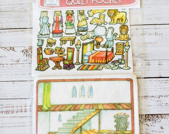 Daniel & the Lion's Den 7 in - story picture pocket, felt boards, felt pieces, girls and boys, quite toy, church toy, car toy, flannel board