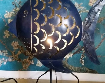 SOLD - The Fishy Lamp