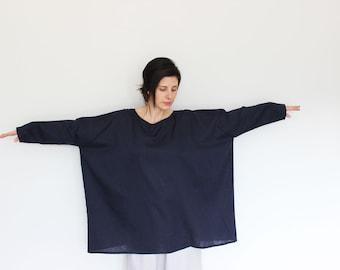 Linen dress woman, Maternity tunic, Loose linen dress, Pure linen dress, Plus size dress, Maternity dress, Tunic dress