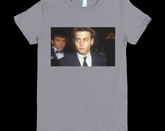 Vintage young Johnny Depp tee