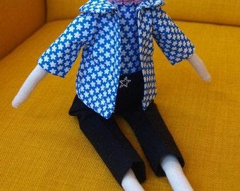 SALE! Handmade cute beautiful Tilda doll, toy, girl, rag doll