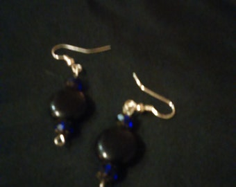 Drop Earrings  BLACK BEAUTY