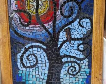 Mosaic Tree of Life Wall Art