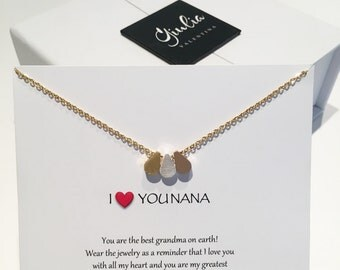 Mother gift - grandmother gift grandma necklace nana necklace nana gift gift for grandma gift for mommy mommy necklace