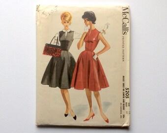 FF B38 1950s Dress Sewing Pattern B38 : McCall's 5205