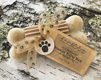 Natural Dog Shampoo | Herbal Doggie Bath Bar | All Natural Dog Soap | Pet Shampoo | Dog Grooming | Solid Dog Shampoo | Gifts for Dog Lovers