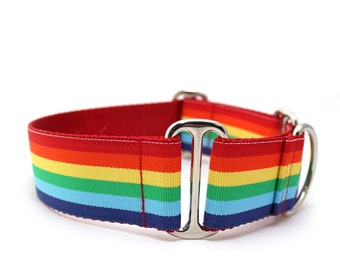 "1.5"" Somewhere... martingale or buckle dog collar"