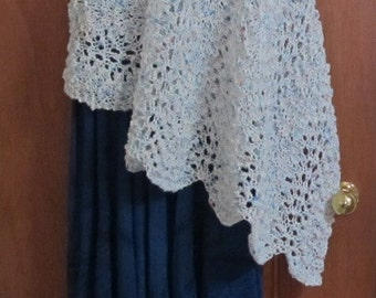 Lacy Rectangular Shawl