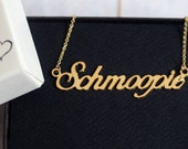 Schmoopie Necklace