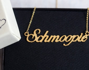 Schmoopie Necklace