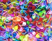 100 Colorful Locking Stitch Markers