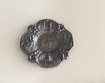 Souvenir Tray/ Metalware Landmark Souvenir Made in Germany By Gatormom13