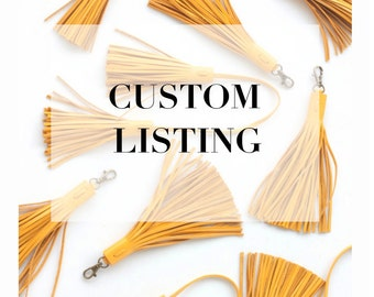 CUSTOM Listing for Rach Pace
