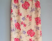Skirt with floral print size medium