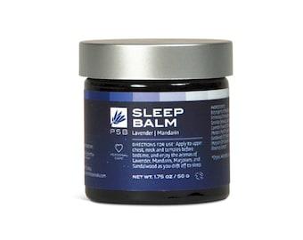 Sleep Balm - Lavender Mandarin Marjoram & Sandalwood - Powerful Aromatherapy from Pure Essential OIls - Herbal Balm