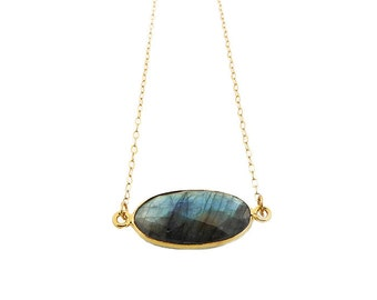 Labradorite Necklace, Labradorite Jewelry