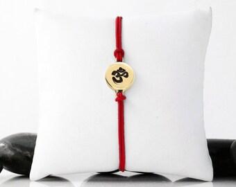 Yoga Bracelet, Yoga Jewelry, Om Charm, Meditation Bracelet, Healing Bracelet, OM, Yoga, Om Jewelry, Ohm Bracelet, Om Symbol, b246cB