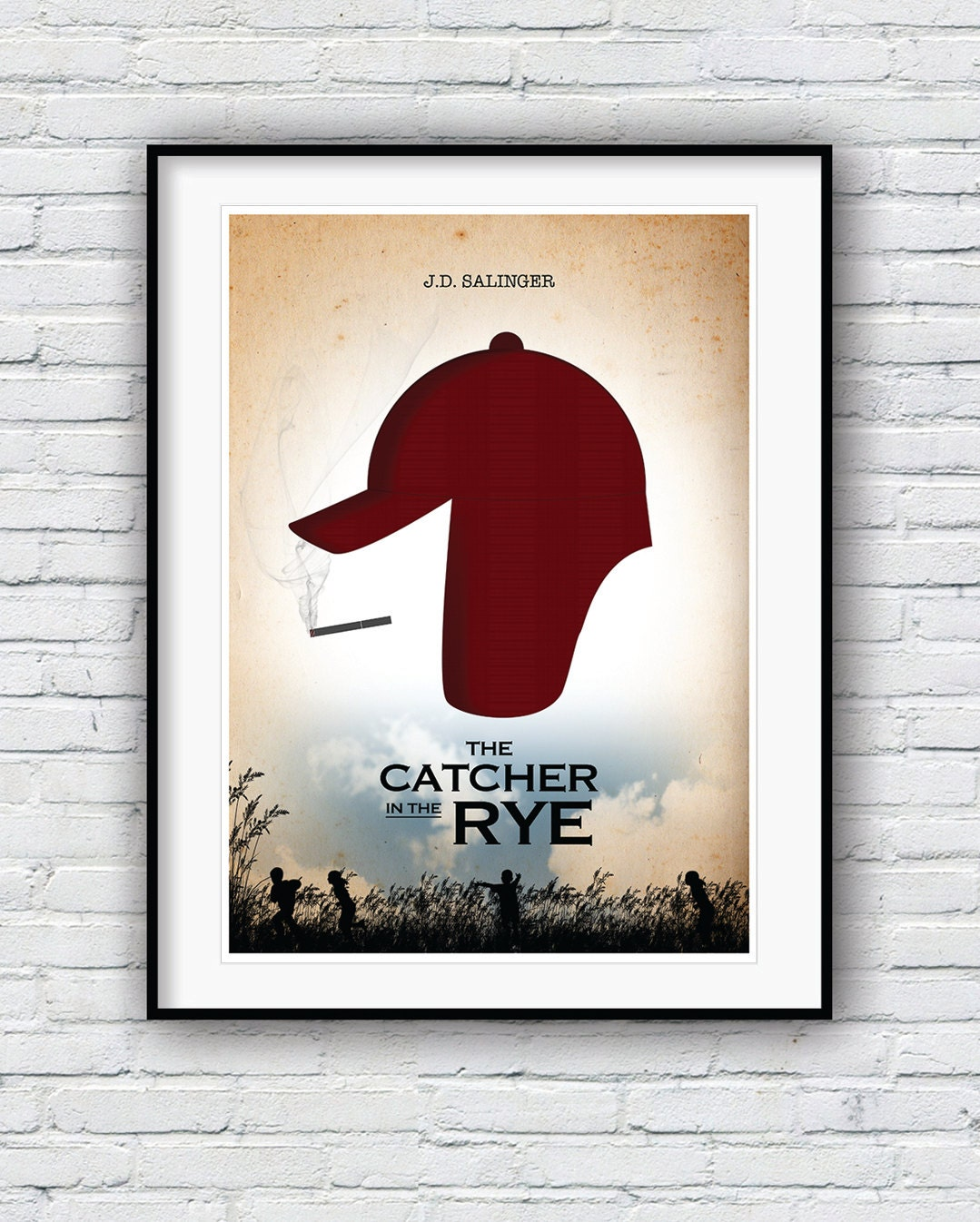 a review of jd salingers the catcher in the rye Jd salinger's catcher in the rye is a coming of age novel, written from the prospective of the protagonist and first person narrator, holden caulfield in the 1950s era.