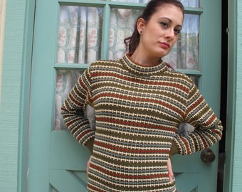 Vintage wool sweater, Swiss made