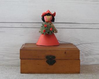 Vintage Danish Erstad & Stubbe Teglbjaerg Doll, Vintage Pinecone Doll