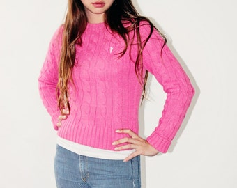 Beautiful pink wool sweater