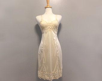 Vintage Ivory Slip Dress