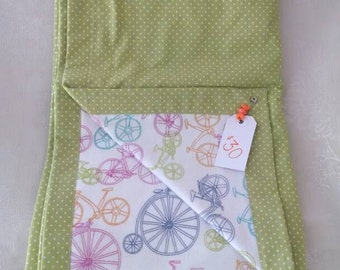 Colorful Bicycle Blanket
