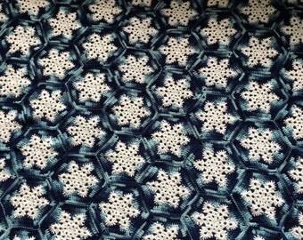 Snowflake Afghan Blanket