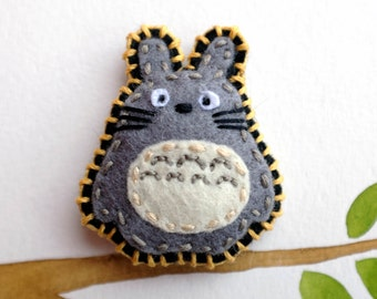 Felt Fridge Magnet (Elephant)