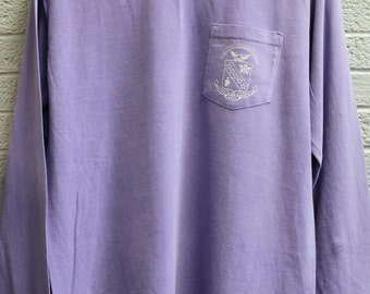 Crest Comfort Color Long Sleeve with Pocket