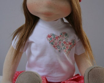 Carolyn 19inch Waldorf doll
