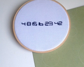 Lost - Numbers - Cross Stitch