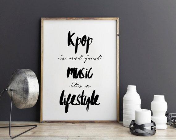 Inspirational Kpop Quotes: Kpop Quote Inspirational Quote Exo Poster Btskpop Bigbang