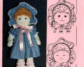 Amy Lynn - Three-Faced Doll Pattern (PDF)