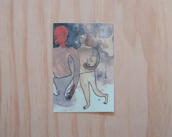 Limited Print Postcard (Boys) 1/100