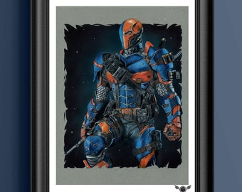 Limited Edition Print – Deathstroke