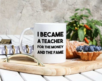 Funny Teacher Coffee Mug - Funny Teacher Gift - Teacher Mug - Teacher Appreciation Gift - Teacher Mug - Gifts For Teacher - Teacher Gifts